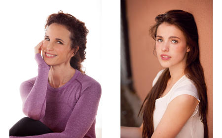 Andie MacDowell, Actress and Margaret Qually, Actress