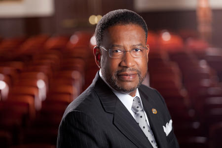 Dr. Ronald L. Carter President of Johnson C. Smith University